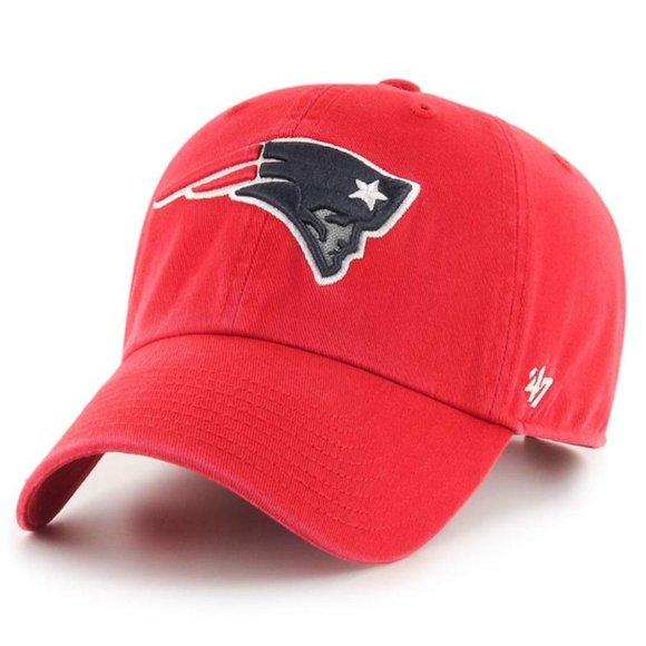 NFL New England Patriots Clean Up Adjustable Cap